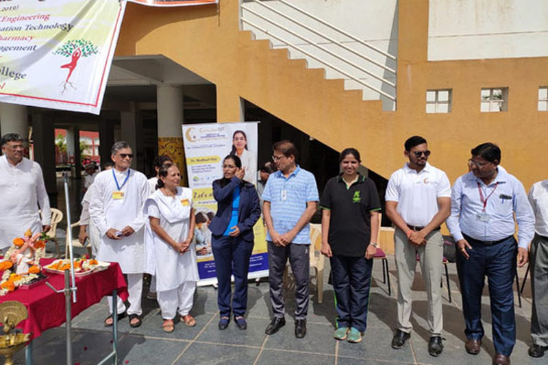 CONCEIVE IVF Conducted INTERNATIONAL YOGA DAY Event With AISSMS